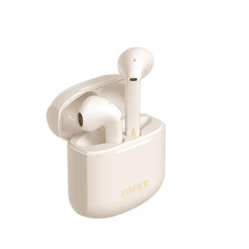 漫步者 LolliPods Plus 真无线蓝牙耳机 音乐耳机 半入式耳机 通用苹果安卓手机 白色