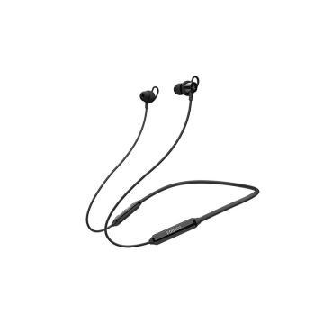 漫步者 W200BT Plus 磁吸入耳式 无线运动蓝牙线控耳机 手机耳机 音乐耳机 带麦可通话 黑色