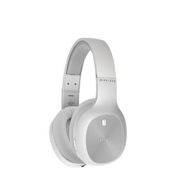 漫步者 W800BT Plus头戴式立体声蓝牙耳机 音乐耳机 手机耳机 通用苹果华为小米手机 白