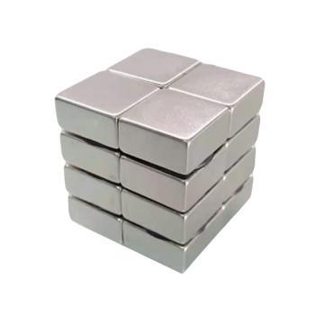 雄楚 钕铁硼强磁方形,30mm×20mm×10mm,材料牌号N35,磁力2300GS