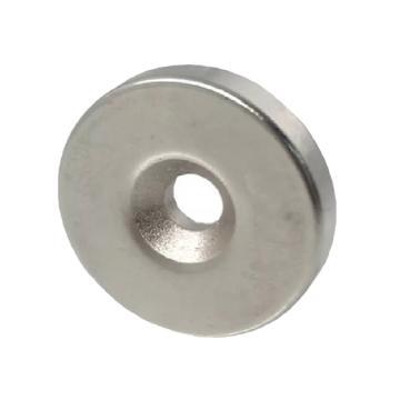 雄楚 钕铁硼强磁圆形,120*15mm孔10mm,材料牌号N35,磁力2000GS
