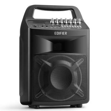 漫步者 PP506 6.5英寸专业级移动音响 广场舞音响 蓝牙手提音箱 户外便携式音响 会议音响 黑色