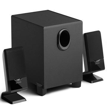 漫步者 R101V 2.1声道多媒体音箱 音响 电脑音箱 黑色