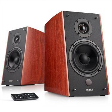 漫步者 R2000DB 5英寸2.0音响终结者 经典版 音响 电视音响 电脑音箱 木纹色