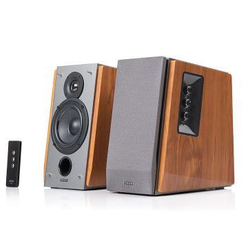 漫步者 R1600TIII 性能强大的4英寸2.0音箱 电脑音箱 音响 木纹色