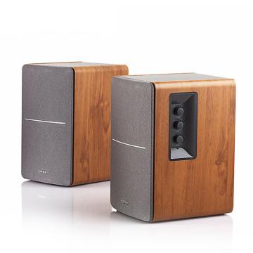 漫步者 R1200TII 2.0多媒体音箱音响 笔记本台式电脑音箱 书架音箱 木纹色