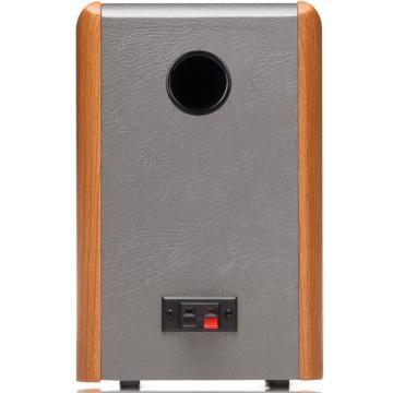 漫步者 R1000BT无线蓝牙音箱 木质有源音箱2.0声道多媒体电视电脑桌面音响 木纹色