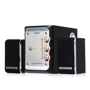 漫步者 E3100 2.1声道 多媒体音箱 音响 电脑音箱 黑色