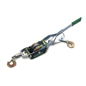 西域推荐 紧绳器,钢丝绳拉紧器,牵引器,1T*2.2m,双齿、单线、双钩
