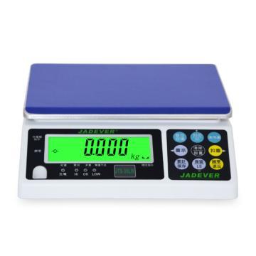 杰特沃 新型电子计重秤,30kg,最小感量1g,加rs232串口