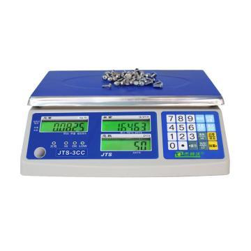 杰特沃 经济型电子计数秤,6kg,最小感量0.2g,加rs232串口