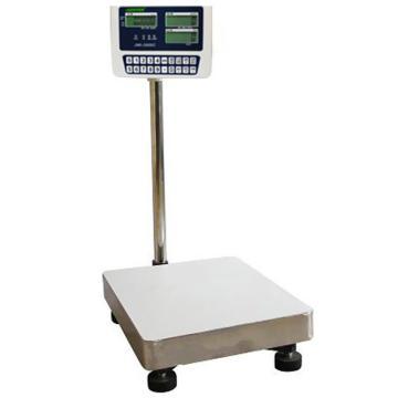 杰特沃 经济型计数电子台秤,100kg,最小感量10g,加rs232串口