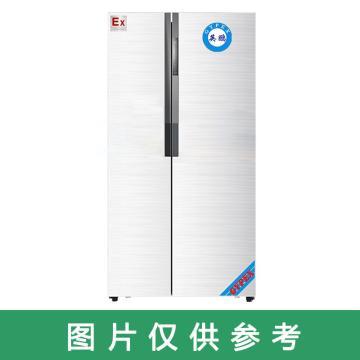 英鹏 500L防爆风冷双温对开门冰箱,BL-200SM500L,220V,防爆等级ExdIIBT4