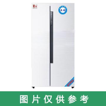 英鹏 600L防爆风冷双温对开门冰箱,BL-200SM600L,220V,防爆等级ExdIIBT4