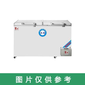 英鹏 400L防爆卧式顶开门冷藏冷冻转换柜,BL-200WS400L,220V,防爆等级ExdIIBT4
