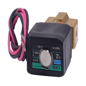 三德科技 两位两通电磁阀,规格FWB51-15-8-02C-3-24VDC,适用型号SDC608,订购货号3013113
