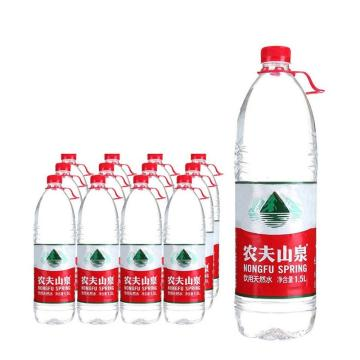 农夫山泉 天然饮用水,1.5L*12瓶 箱装(按箱起售)