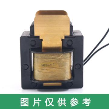 浙江贝尔 虹吸电磁阀用电磁铁,适用MFJ1-5.5交流,AC380V,8mm.55N 安装管径:51.25mm