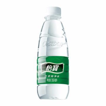 怡宝 纯净水,350ml*24瓶 箱装