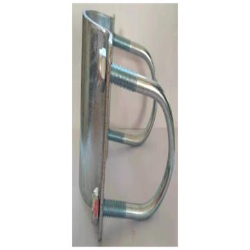 大江,双孔管夹抱箍,抱管直径40mm,孔间距80mm,套