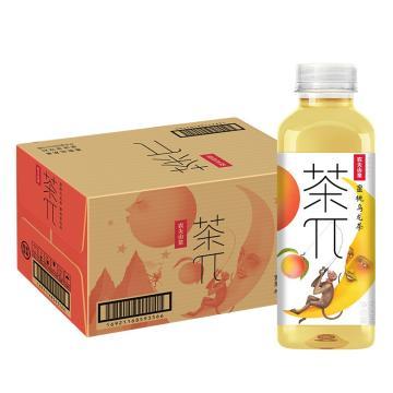 农夫山泉 茶派蜜桃乌龙茶,500ml*15瓶 箱装(按箱起售)