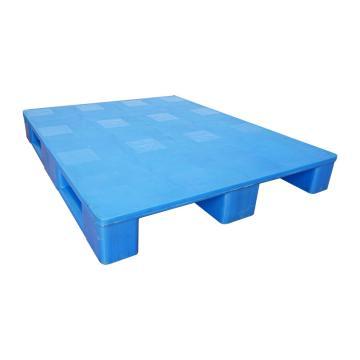Raxwell 平板川字托盘,尺寸:1200×1000×150mm,动载:1500kg,静载:6000kg,蓝色