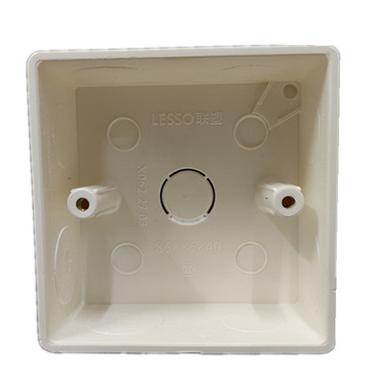 联塑 PVC线管单盒,明装 86*86*40