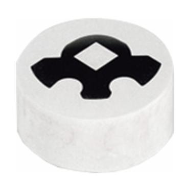 赋耘 热镶嵌料,18千克,FHM4,白色,204004120