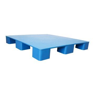 Raxwell 平板九脚托盘,尺寸:1200×1000×140mm,动载:1000kg,静载:4000kg,蓝色