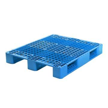 Raxwell 网格川字托盘,尺寸:1200×1000×150mm,动载:1000kg,静载:4000kg,蓝色