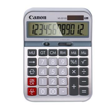 佳能 商务办公计算器,WS-2212G 12位