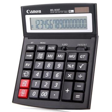佳能 计算器,WS-1610T 16位 税率计算器