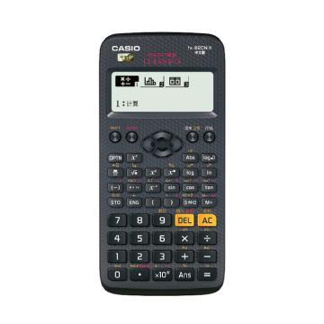 卡西欧 科学函数计算器,FX-82CN X 黑色