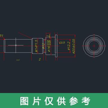 灵龙实业 碟盘螺母 8.5(LL-ZDZYY-8.5-05)