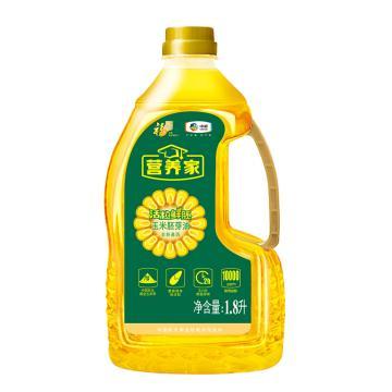福临门 营养家 玉米胚芽油,1.8L 两小时鲜胚即榨 中粮出品 (一件代发)