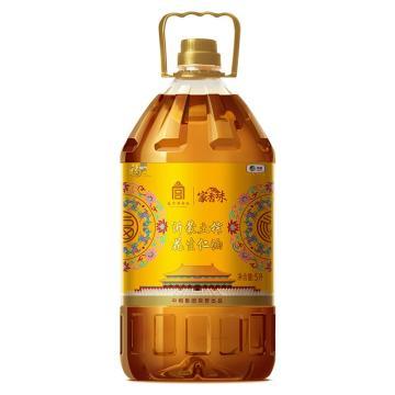 福临门 家香味 沂蒙土榨花生仁油,5L 宫标版 黄色 中粮出品 (一件代发)