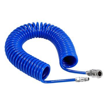 莱特管RiteHose PU螺旋管(含接头),8X5,12米蓝色,705.069.24.B