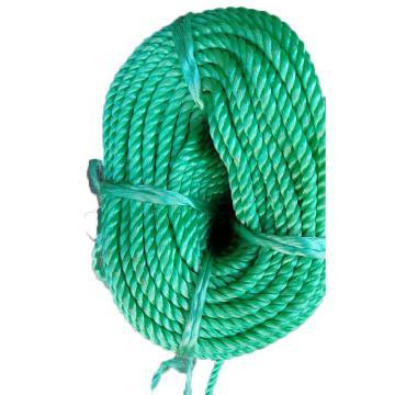 西域推荐 打包尼龙绳,绿色,宽(mm):10