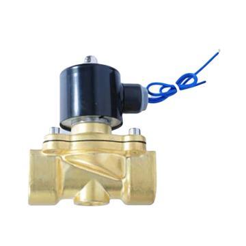埃美柯 黄铜电磁阀,J011X-10T DN25,直动式,常闭型,24v,758型