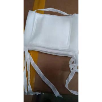 亿卫牌 纱布口罩,白色 一根绳子可挪动 10个/捆(无检测报告)