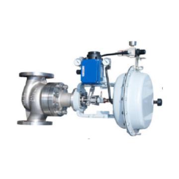 116 电动V型调节球阀,VQ947W-1.6P DN50