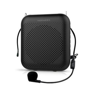 诺为有线版小蜜蜂扩音器4000毫安大容量教师专用播放器蓝牙音箱喇叭导游耳麦S358pro黑色 单位:台
