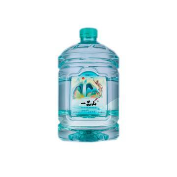 一品山 饮用天然矿泉水,4.5L 桶装
