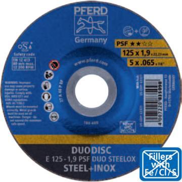 马圈 碳钢/不锈钢切割片,150×1.0×22.23,50片/盒,4007220569825