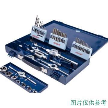 INVOUS 32件套丝锥板牙套装,M3-M12,IS781-81763