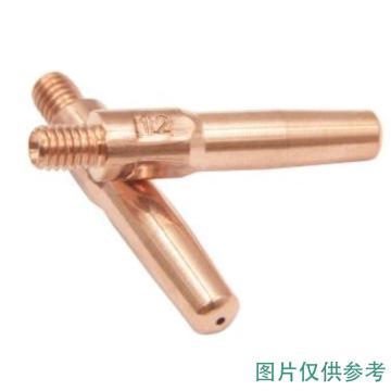 导电嘴/铜电极,φ1.2,M6×45,松下式,紫铜