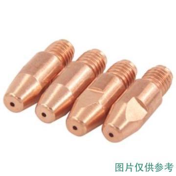 导电嘴/铜电极,φ0.8,M6×28,欧式,紫铜