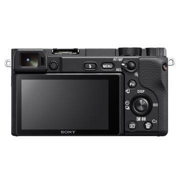索尼(SONY)ILCE-6400 vlog 微单相机 4K视频 自拍 黑色 A6400L(16-50mm镜头)套装