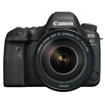 佳能 6D2专业级高级全新eos全画幅机身套机单反照相机 24-105 f4ii 套机