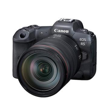佳能(Canon)EOS R5/r5 8K视频全画幅专业微单相机 旗舰型高端专微 佳能R5+RF24-105F4USM套装